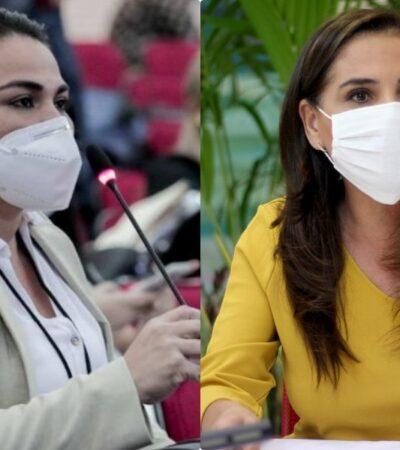 DESCHONGUE ENTRE MORENISTAS: Reyna Durán Ovando va contra Mara Lezama y pide a la FGR investigar denuncias por compras de inmuebles de la Alcaldesa