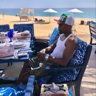 Floyd Mayweather Jr. presume en redes sociales sus vacaciones en Los Cabos