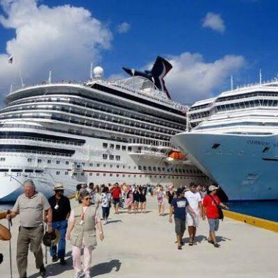 Llegada de cruceros a Mahahual y Cozumel depende del semáforo epidemiológico