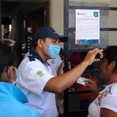 Yucatán cierra la semana con 14,832 casos de COVID-19 y 1,980 decesos