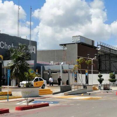Movilizó el Aeropuerto de Chetumal a más de 6 mil pasajeros durante junio