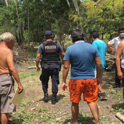 Detienen intento de invasores de apropiarse de terreno de la Untrac en Felipe Carrillo Puerto