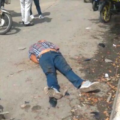 LA GENTE SE CANSA: Ladrón se salva de ser linchado en Chetumal