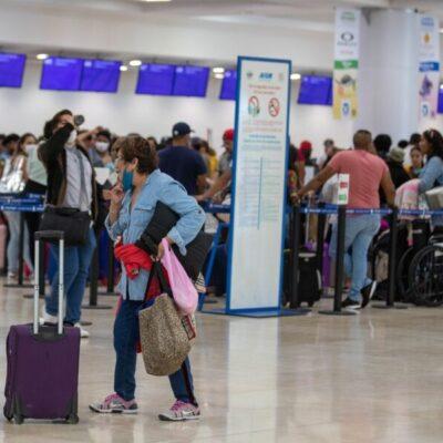 Aeropuerto Internacional de Cancún culmina el mes de agosto con alta frecuencia de vuelos nacionales e internacionales
