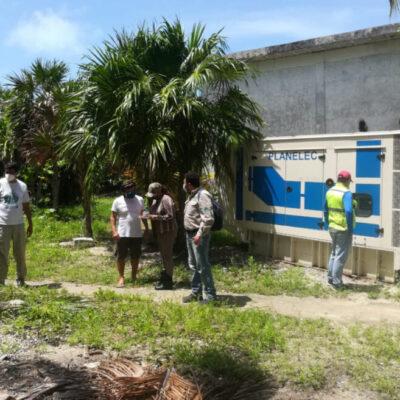Inician trabajos para dotar a Punta Allen de un sistema eléctrico integral