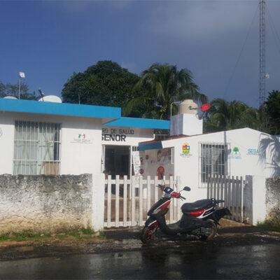 Centro de Salud de la comunidad maya carrilloportense de Señor carece de médico