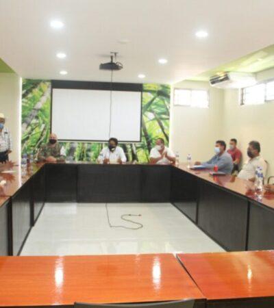 Revisan autoridades mecanismos de vigilancia y seguridad en comunidades rurales de OPB