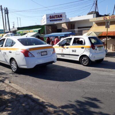 PIDEN QUESO, LES DAN HUESO: Taxistas chetumaleños pretenden 20% aumento de tarifas; autoridad se los niega