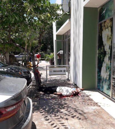 ¿IBAN POR JORGE PORTILLA?: Matan a escolta del director de Desarrollo Urbano de Tulum; hay dos heridos