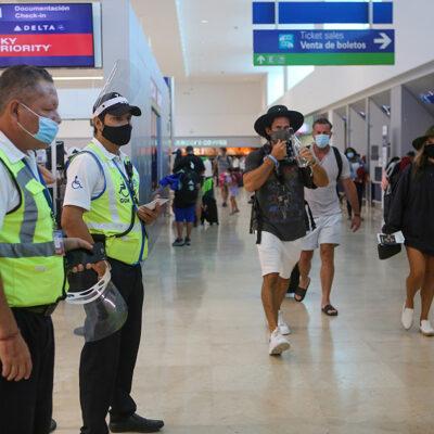 Puerto Morelos regresa a ocupación superior al 20 por ciento y reanudan vuelos desde Cancún a Venezuela