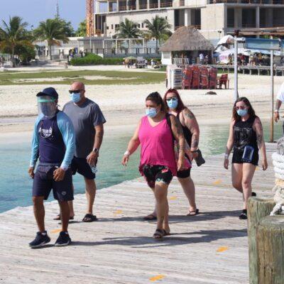 Destinos del norte de Quintana Roo mantienen ocupación cercana al 30 por ciento