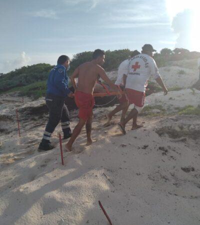 Salvan a turistas de morir ahogados en Cozumel tras no respetar restricciones sanitarias