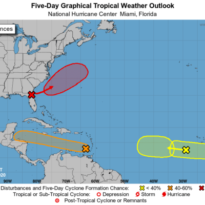 MONITOREO EN EL CARIBE: Onda tropical con 60% de probabilidad de evolucionar a depresión tropical en los próximos días