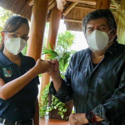 Presenta Fonatur avances de obras del Tren Maya en Puerto Morelos
