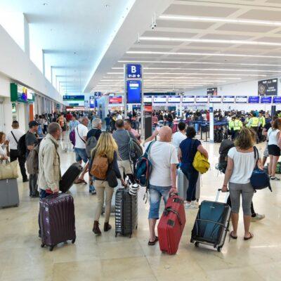 Registra 198 operaciones el Aeropuerto Internacional de Cancún