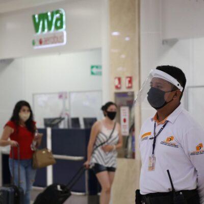 Aeropuerto de Cancún programó jornada dominical de 220 vuelos