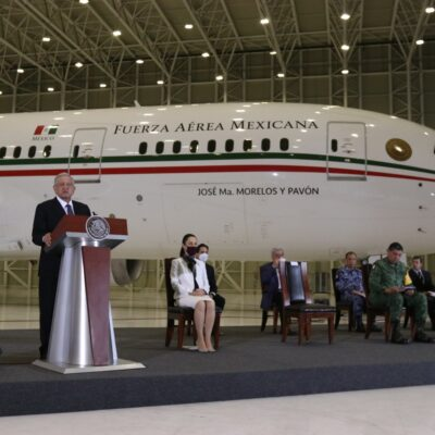 Tras sorteo que reunió más de 2 mil 342 mdp, AMLO dice que avión presidencial ya tiene 'compromiso de compra'