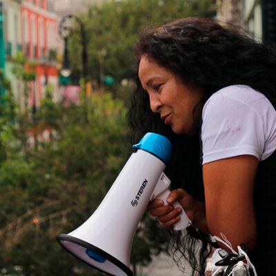 Yesenia Zamudio se retira de la CNDH y señala a feministas de desvirtuar la exigencia de justicia