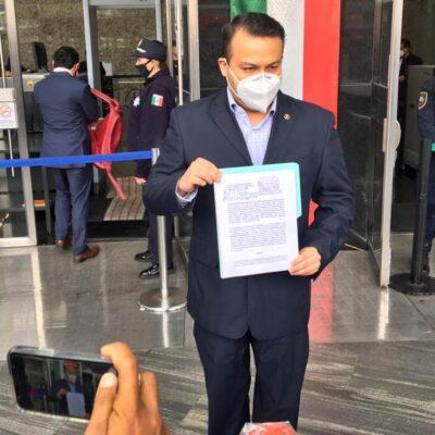 PAN demanda ante la FGR a AMLO, Alcocer y López-Gatell por sabotaje y ejercicio indebido del servicio público
