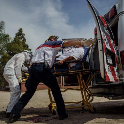PANDEMIA EN MÉXICO: Persiste incremento en muertes y contagios de COVID-19