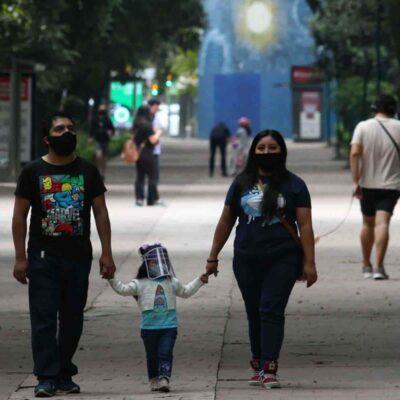 PANDEMIA EN MÉXICO: Reporta Salud incremento sostenido de contagios y decesos por COVID-19