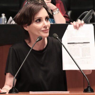 Lilly Téllez promueve nueva denuncia de senadores del PAN contra López-Gatell
