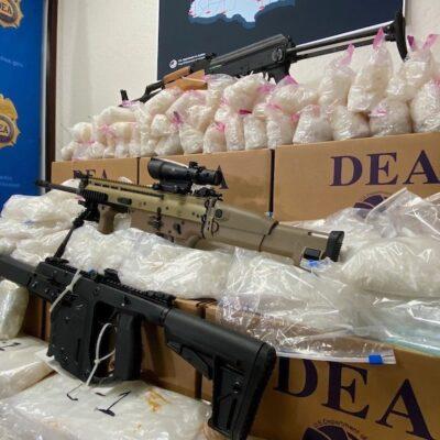 EU GOLPEA A CÁRTELES MEXICANOS: Arresta a mil 840 personas e incauta 12 mil 955 kilos de drogas