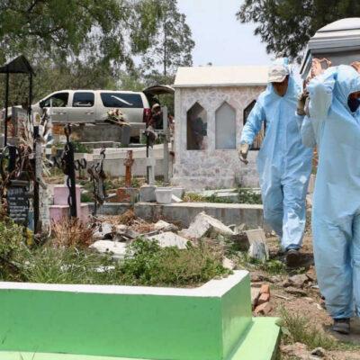 PANDEMIA EN MÉXICO: Suman 72 mil 179 muertes por COVID-19; contagios confirmados llegan a 684 mil 113