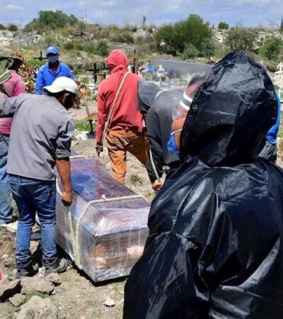 PANDEMIA EN MÉXICO: Suman más de 629 mil contagios de COVID-19; muertes llegan a  67 mil 326