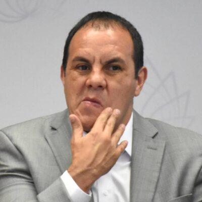 VIDEO | Tunden en redes al gobernador Cuauhtémoc Blanco por decir 'nadien' y no saber restar…