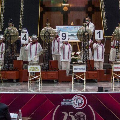 Cien ganadores podrán reclamar su premio de 20 mdp tras el sorteo especial del valor de avión presidencial