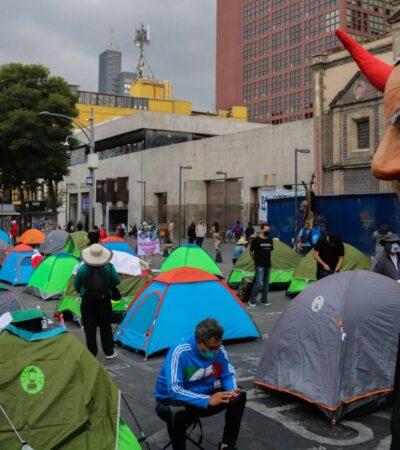 AMLO RETA A FRENAAA: Les pide 'articularse', resistir y promover la revocación de mandato