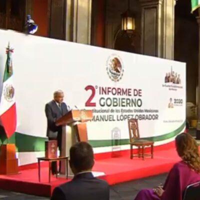 SEGUNDO INFORME   Ahorra gobierno 560 mil mdp por austeridad y lucha contra la corrupción, asegura AMLO