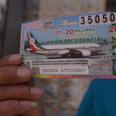 Exhorta AMLO a comprar 'cachitos del avión presidencial a menos de 24 horas del sorteo…