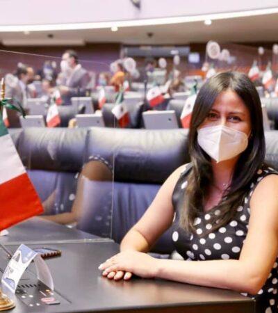 Rifa del avión es una burla en medio de la inestabilidad económica, dice senadora veracruzana