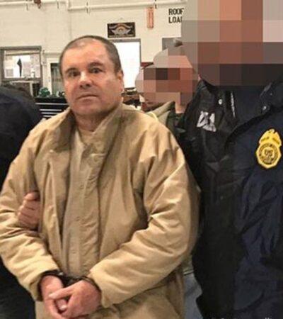 'EL CHAPO' EN PRISIÓN: Defensa busca apelar sentencia de por vida a Guzmán Loera en Estados Unidos