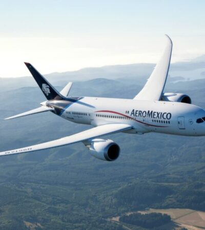 Incrementará Aeroméxico frecuencias de vuelos en septiembre en 25 de los 39 destinos domésticos
