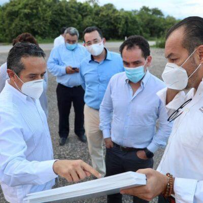Desde Lázaro Cárdenas, inicia Arturo Herrera su gira por Quintana Roo