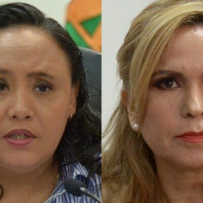 Alzan la mano Cristina Torres y Lili Campos para competir por la candidatura del PAN a la presidencia municipal de Solidaridad