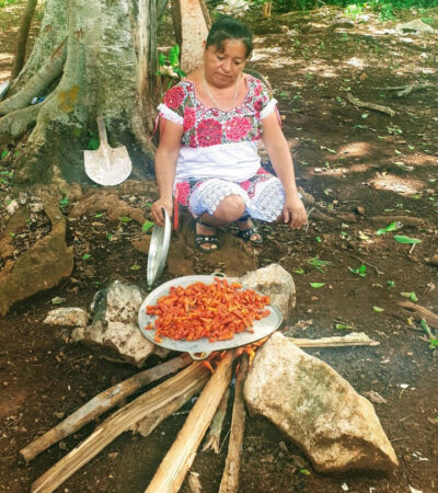 La chef yucateca Rosalía Chay Chuc participará en programa de Netflix