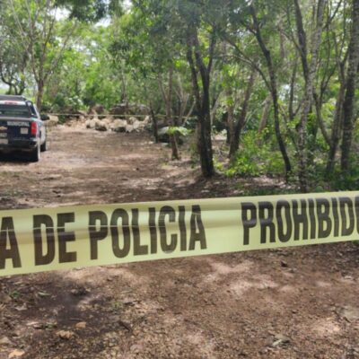 CRIMEN EN LA PERIFERIA DE CANCÚN: Hallan cadáver de hombre asesinado en El Pedregal