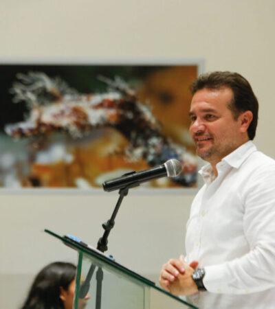 Destaca Cozumel a nivel internacional como destino líder en conservación ambiental, asegura Pedro Joaquín