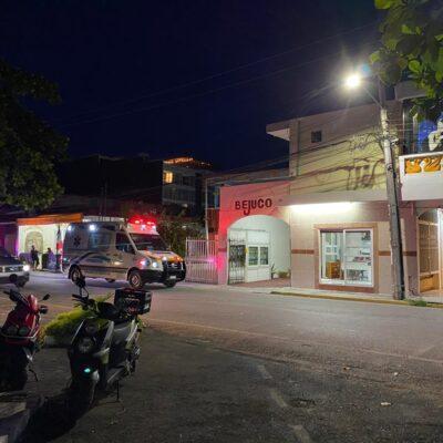 LE DIERON UN GOLPE CONTUNDENTE EN EL HOTEL BEJUCO: Asesinan a sexoservidora en el centro de Playa del Carmen