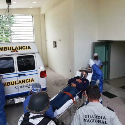 INGRESA MARIO VILLANUEVA AL HOSPITAL POR COVID-19: Le practicarán exámenes médicos al exgobernador de QR tras anunciar que dio positivo a la prueba de coronavirus