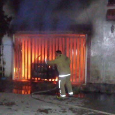 URGE EQUIPO DE BOMBEROS DE CALIDAD EN CHETUMAL: Incendio donde perdió la vida un joven dejó en evidencia la falta de recursos materiales de los rescatistas