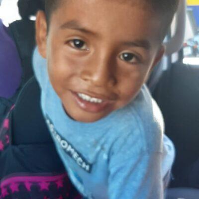 Hallan a niño de cinco años deambulando en calles de Cancún