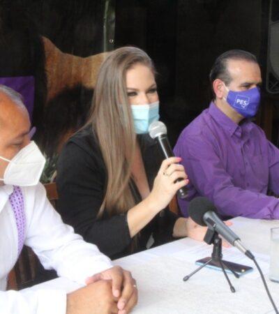 Acredita IEQROO el registro del Partido Encuentro Solidario en el estado