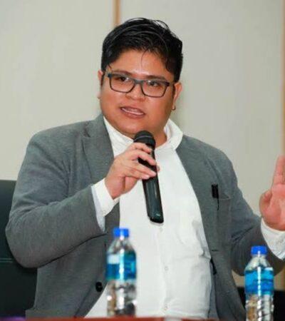 Reconoce Gibrán Ramírez que AMLO tiene 65% de aprobación, pero Morena tiene el 20%, por eso busca dirigencia nacional