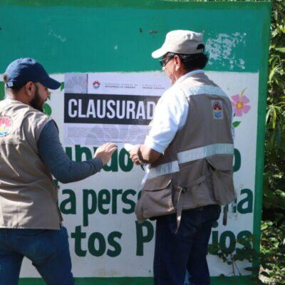 Clausuran 15 mil lotes que se comercializaban de manera irregular en Cancún