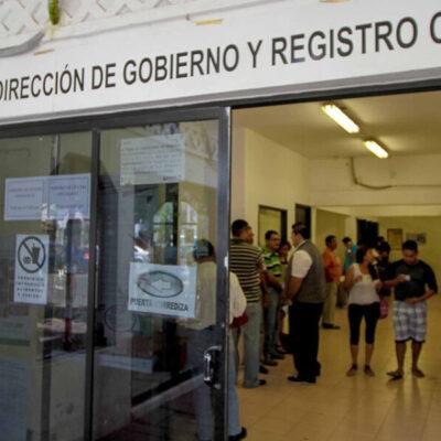 Reanuda operaciones con previa cita el registro civil de Cancún